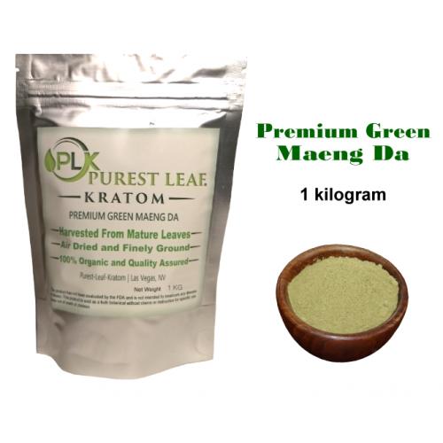 Premium Green Maeng Da Kratom Powder 1 kilo