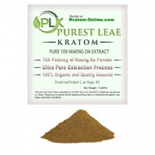 Purest Leaf Maeng Da 10X Kratom Extract 5 gr sample pack