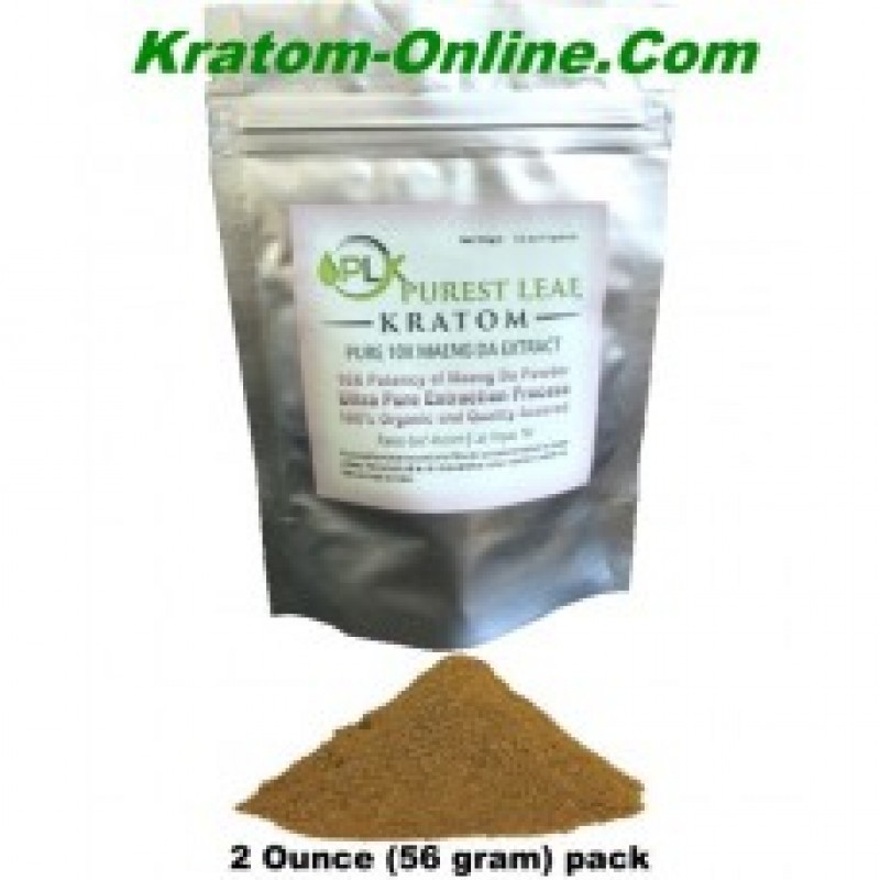 Purest Leaf Maeng Da 10X (10 to 1) Kratom Pure Extract TWO ounce pack