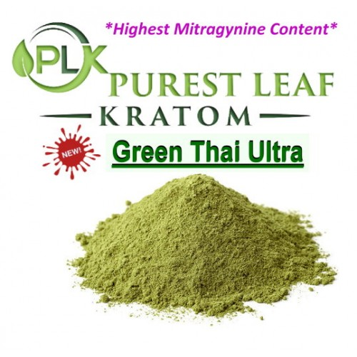 NEW Green Thai Ultra - Highest Mitragynine Content!