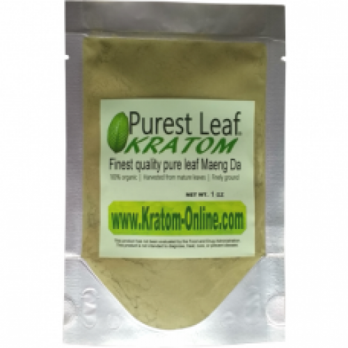 Premium Green Maeng Da Kratom Powder 1/2 oz (14 gr) starter pack