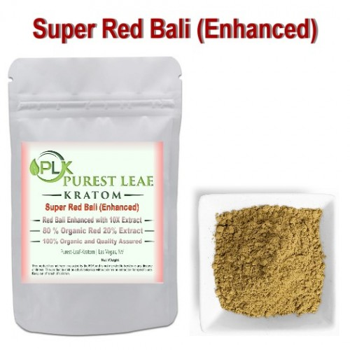 Super Red Bali Enhanced Kratom Powder